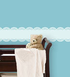 Baby Blue Stripe Wall Decal Sticker Wall Decal