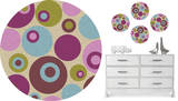 Twister Dot Wall Decal Sticker Wall Decal
