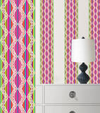 Petals Stripe Wall Decal Sticker Wall Decal