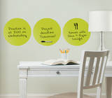 Samara 3 Dots Dry Erase Wall Decal Sticker Wall Decal