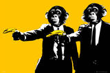 Monkeys - Bananas Kunstdrucke