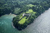 Aerial View of Fort San Lorenzo, Colon, Panama Photographic Print by Jonathan Kingston