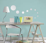 Dots Wall Mirror Decal Sticker - Duvar Çıkartması