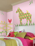 Addison the Horse ZooWallogy Wall Art Kit Wall Decal