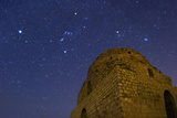 Sirius, Constellations Orion, Taurus and the Pleiades Over Sasan Palace Photographic Print by Babak Tafreshi