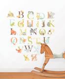 Alphabet Zoo Decal Kit Decalques de parede