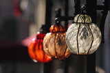 A Trio of Colorful, Ornate Glass Lanterns Photographic Print by Joe Petersburger