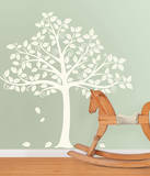 Silhoutte Tree Decal Kit Wall Decal