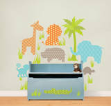 Jungle Friends Decal Kit Wall Decal