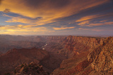 Sunset Afterglow Illuminates Canyon Cliffs at Navajo Point Photographic Print by Derek Von Briesen