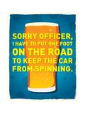 Sorry Officer Posters by J.J. Brando