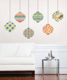 Lanterns Wall Decal Sticker Art Kit Wall Decal