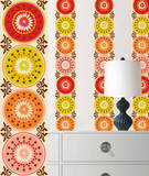 Carnivale Stripe Wall Decal Sticker Wall Decal