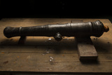 A 17th Century Cannon Found on a Shipwreck in Panama Photographic Print by Jonathan Kingston