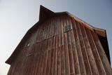 Exterior View of a Barn Near Dunbar, Nebraska Photographic Print by Joel Sartore