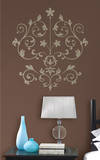 Nouveau Damask Wall Art Kit Wall Decal