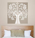Love Birds Wall Art Kit Wall Decal