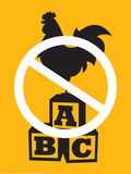 No Cock Blocking Posters by J.J. Brando