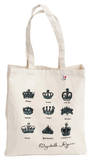 Queen Elizabeth's Crowns Tote Borsa shopping