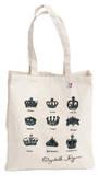 Queen Elizabeth's Crowns Tote Bolsa de tela
