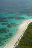 Beautiful and Empty Beaches Along the Coast of Cat Island, Bahamas Reproduction photographique par Jad Davenport