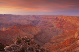 Sunset Afterglow Illuminates the Grand Canyon at Navajo Point Photographic Print by Derek Von Briesen