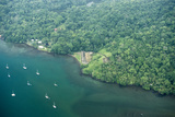Aerial View of Fort San Fernando, Portobelo, Panama Photographic Print by Jonathan Kingston