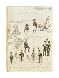 Military Uniforms of French Republic, by Quinto Cenni, Color Plate, 1799-1815 Giclee Print
