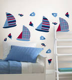 Regatta Blox Wall Decal Sticker Decalques de parede