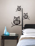 Give a Hoot Wall Art Kit Wall Decal