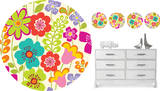 Petals Dot Wall Decal Sticker Wall Decal