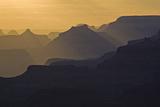 Canyon Cliffs in Silhouette at Navajo Point Photographic Print by Derek Von Briesen