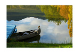 Lake Reflection Posters by Sally Linden