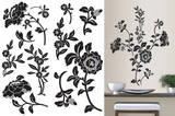 Brocade Wall Art Kit Wall Decal