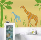 Riley the Giraffe ZooWallogy Wall Art Kit Wall Decal