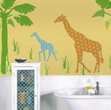 Riley the Giraffe ZooWallogy Wall Art Kit Wall Decal