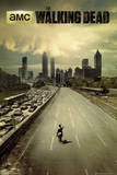 The Walking Dead - City Print