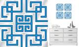 幾何学模様ウォールステッカー・壁用シール ウォールステッカー