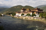 The Punakha Dzong, Also Known As Pungtang Dechen Photrang Dzong Photographic Print by Ira Block