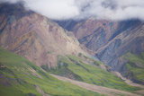Clouds and Mountains in Denali National Park, Alaska Photographic Print by John Burcham