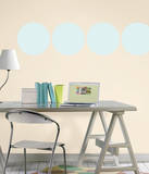 Baby Blue Dot Wall Decal Sticker Wall Decal