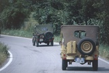 Meeting of Military Vehicles, Willys MB Jeep, 1942 Photographic Print
