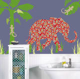 Mabuza the Elephant ZooWallogy Wall Art Kit Wall Decal