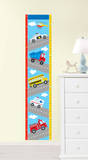 Transportation Growth Chart Wall Decal Sticker Decalques de parede