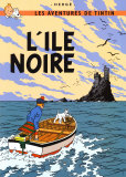 L&#39;Ile noire, vers 1938 Affiches par Herg&#233; (Georges R&#233;mi) 