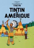 Tintin en Amerique, c.1932 Plakater af  Hergé (Georges Rémi)