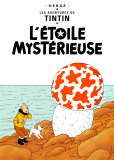 L&#39;&#233;toile myst&#233;rieuse (1942) Affiche par Herg&#233; (Georges R&#233;mi) 