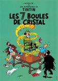 Die sieben Kristallkugeln, 1948 (französisches Filmposter) Kunstdrucke von  Hergé (Georges Rémi)
