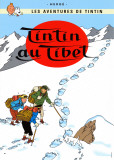 Tim in Tibet (1960) Kunstdruck von  Hergé (Georges Rémi)