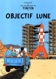 Objectif Lune, c.1953 Julisteet tekijn Herg (Georges Rmi)